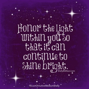 Honor your Light