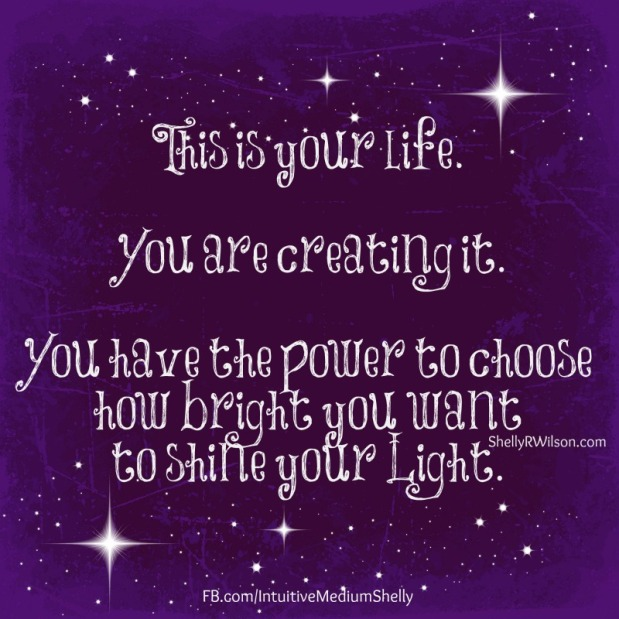 Shining your Light on this Journey intoConsciousness